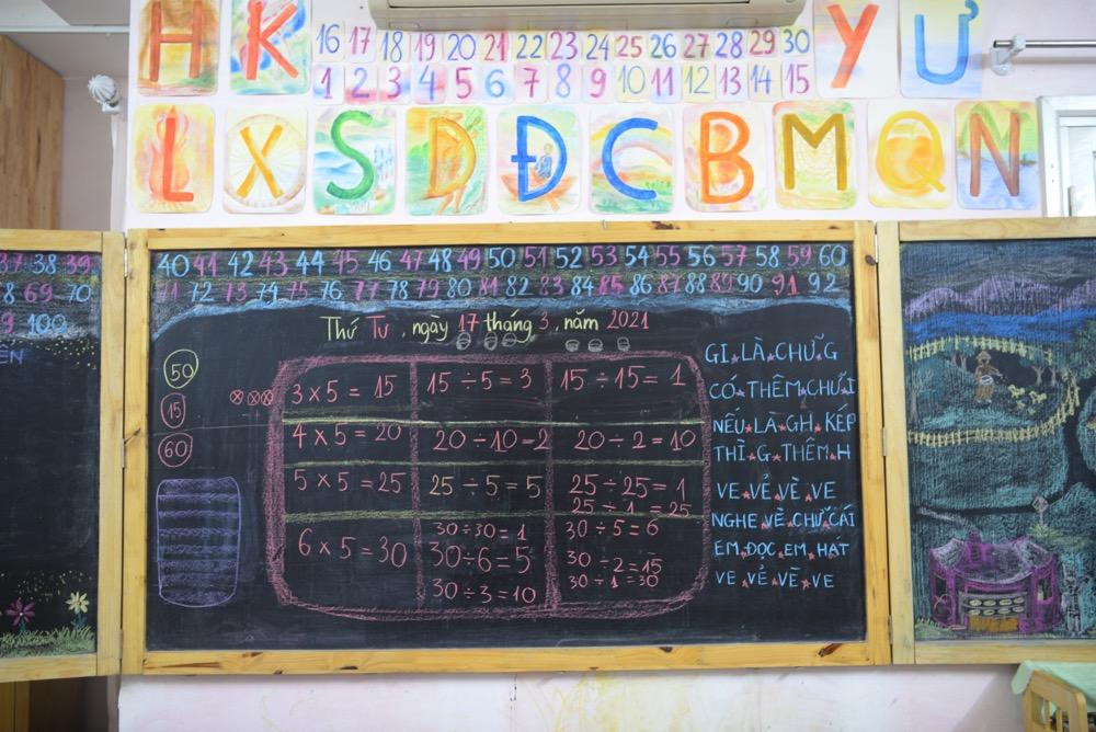 Môn Toán tại Lớp tiền tiểu học theo phương pháp giáo dục Steiner
